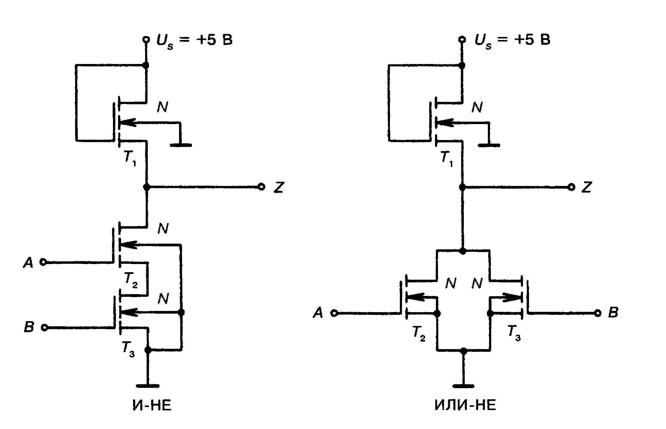 Цифровые схемы на мдп транзисторах 651
