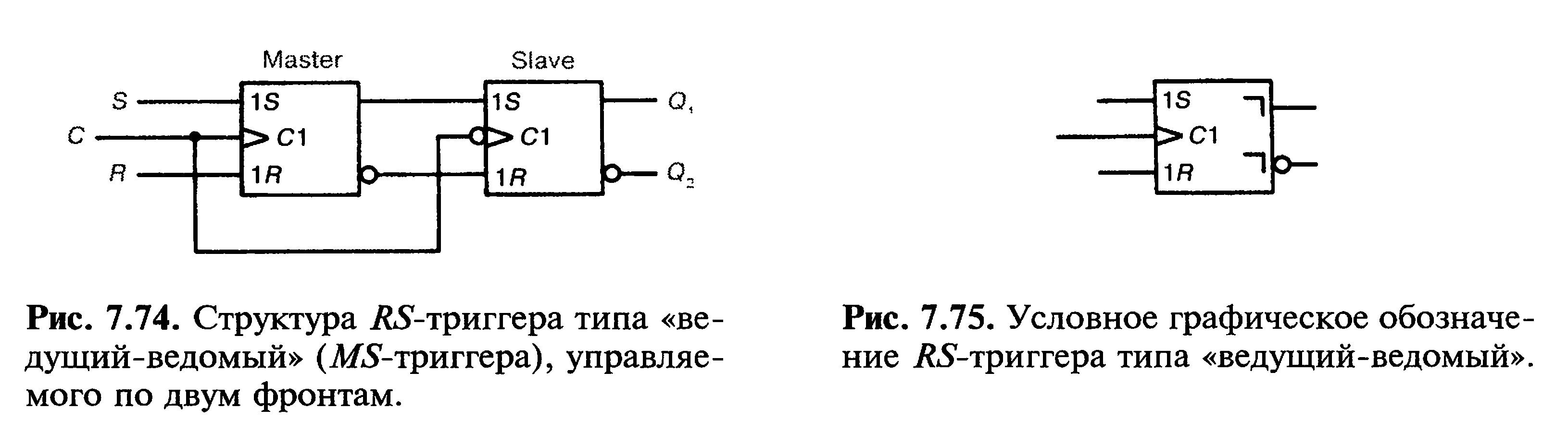 электрическая принципиальная схема с триггером